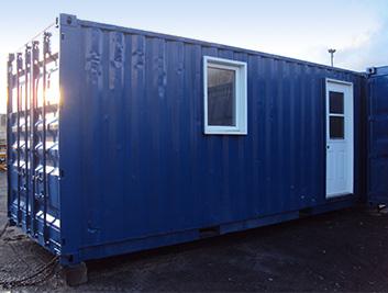 Bureaux de chantier conteneurs dentreposage edl